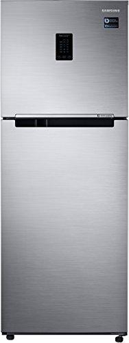 Samsung 324 L 3 Star Inverter Frost Free Double Door Refrigerator(RT34M5538S8/HL, Elegant Inox, Convertible)