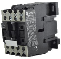 TC1-D1210-F7 12 AMPS - 690Volts 3 Pole Contactor 110/50-60VAC AC operating Replacement for LC1-D1210-F7