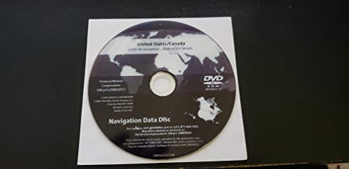 GM Navigation Data disc GPS Update maps Cadillac Chevy GMC Chevrolet on