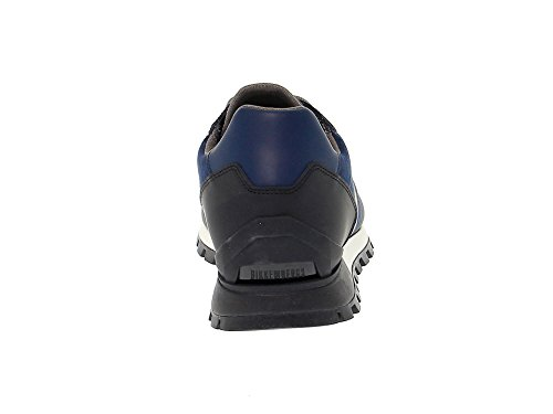 Bikkembergs Gentleman Baskets Leader Bleu Bke108852