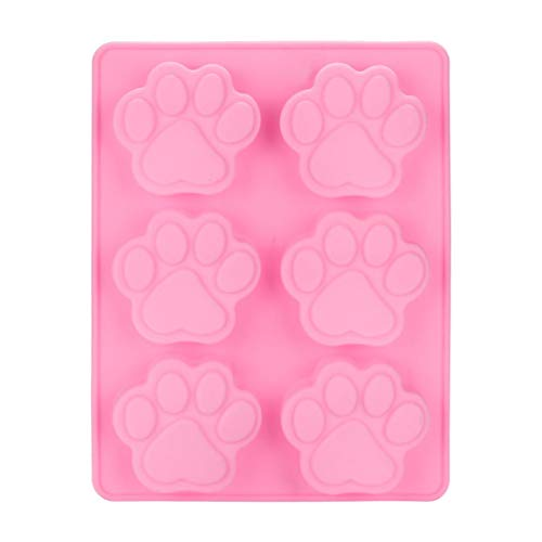 USHOT Cat Paw Print Silicone Cookie Cake Candy Chocolate Mold Soap Ice Cube Mold for $<!--$1.07-->