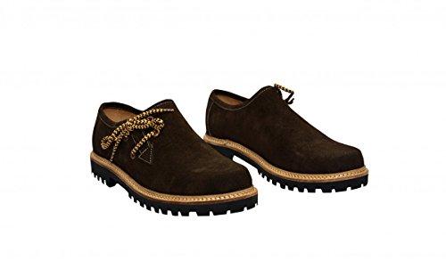 Haferlschuhe Trachtenschuhe Trachten Schuhe echtleder wildleder Dunkelbraun