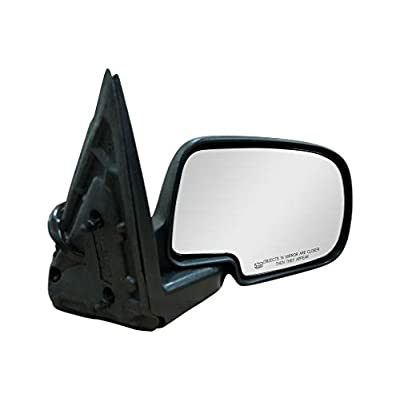 Passenger Side Mirror for Cadillac Escalade Chevy Avalanche Silverado Suburban HD Tahoe GMC Sierra Yukon XL 1500 2500 3500 2003-2007 Textured, Power Operated, Heated. Folding - GM1321293: Automotive