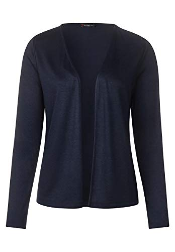 Deep Cardigan blau Street One Donna Blue wAAaqt