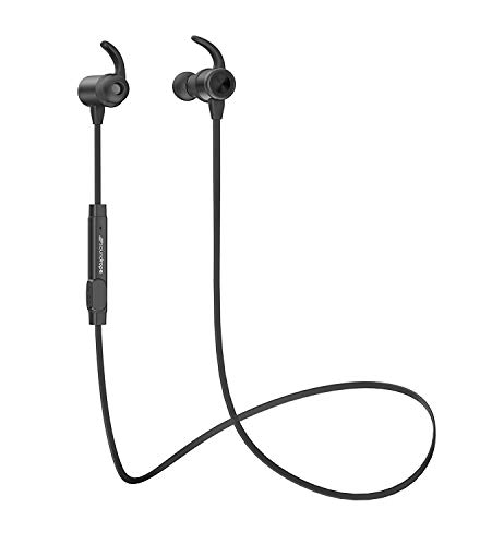 Sport Bluetooth Headphones [Soundrope] HQ Sound | Upgraded Model (Sweat Proof & Water Resistant) Bluetooth Earbuds Workouts, Running, Listening, More - in Ear Buds