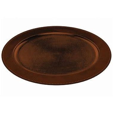 Elegant Fall Oval Platter- Brown 19