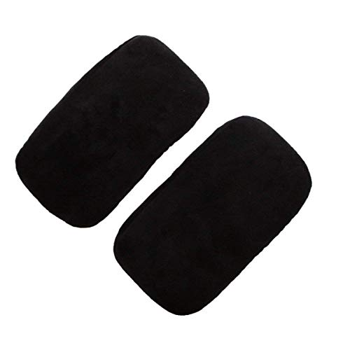2 Set Chair Armrest Pad, Ergonomic Memory Foam Gaming Office Chair Arm Rest Cover Cushion for Elbows and Forearms Pressure Relief ()