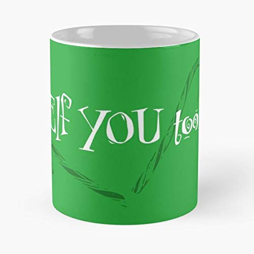 Elves Chr Tea,coffee Mugs Funny Girf For Holiday.