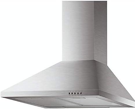 Modelo CH08A/90 - Campana extractora de cocina de 90 cm, instalación de pared, tipo Canalizado, color acero inoxidable: Amazon.es: Grandes electrodomésticos