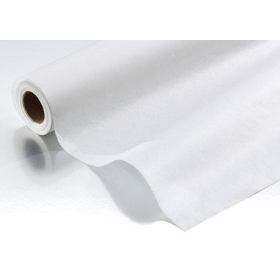 Standard Exam Table Rolls in White Paper: Crepe, Size: 18'' x 125'