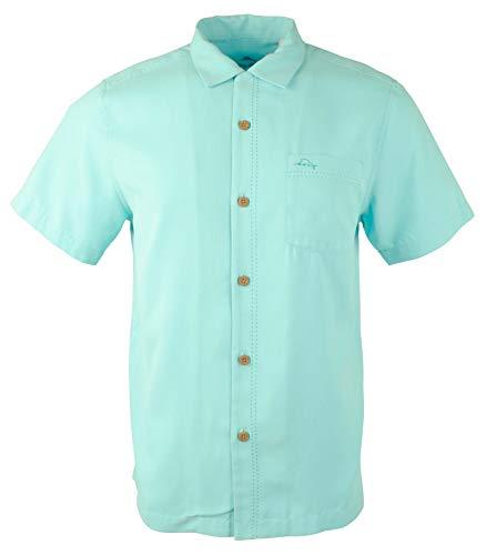 Tommy Bahama Men's Royal Bermuda IslandZone Technology Camp Shirt-BR-S