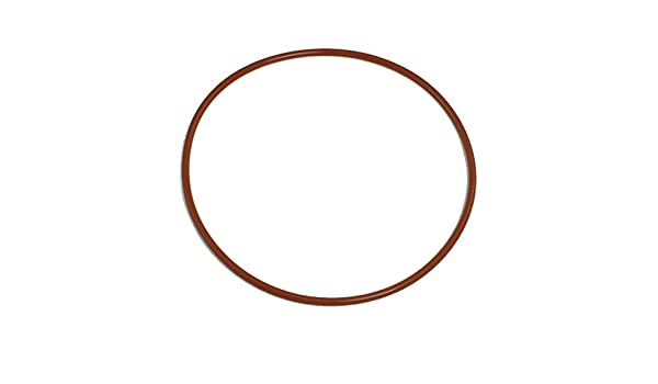 uxcell 95mm OD 3mm Thickness Red Silicone O Ring Oil Seal Gasket