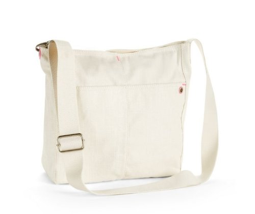 Aeropostale Handbag Messenger Crossbody Beige