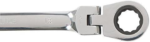 Silverline 794336 Flexible Head Ratchet Spanner 8-19 mm - Set of 12