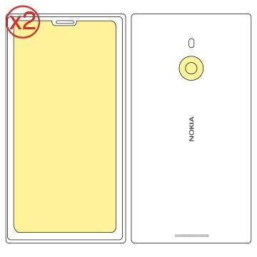 Martin Fields Overlay Plus Screen Protector (Nokia Lumia 1520) Twin Pack - Includes Camera Lens Protector