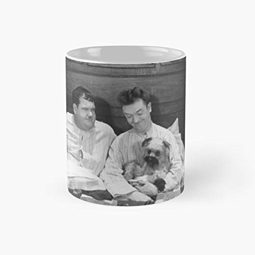 Laurel and Hardy, Laughing Gravy Mug, laurel and hardy Cup, 11 Ounce Ceramic Mug, Novelty Gift Mug, Funny Gift Mugs, Funny Coffee Mug 11oz, Tea Cups 11oz