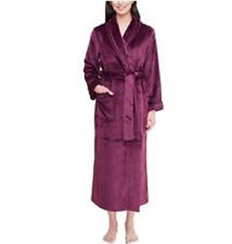 Carole Hochman Ladies Super Soft Wrap Robe (X-Large, (Carole Hochman Robe)