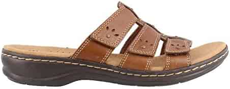 a3a992a1dc3d CLARKS Leisa Spring Women s Sandal 6.5 B(M) US Brown-Multi