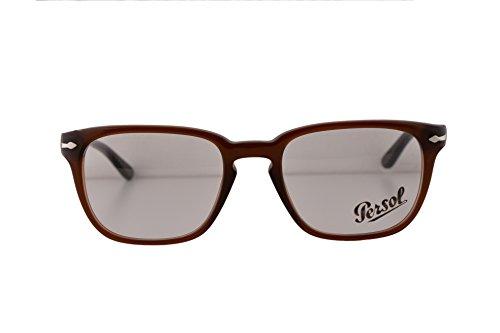 Persol PO3117V Eyeglasses 51-19-145 Brown 1030 PO3117 (FRAME ONLY)