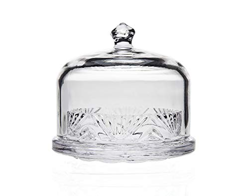 Godinger Butter Dish with Cover, Lead Free Crystal - Chatham ()