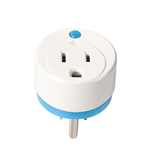 Home Automation Z-Wave Smart Plug,Zwave Appliance Module On/Off Plug-In Outlet with Energy Monitoring (2 Pack) By HAOZEE by haozee (Image #1)