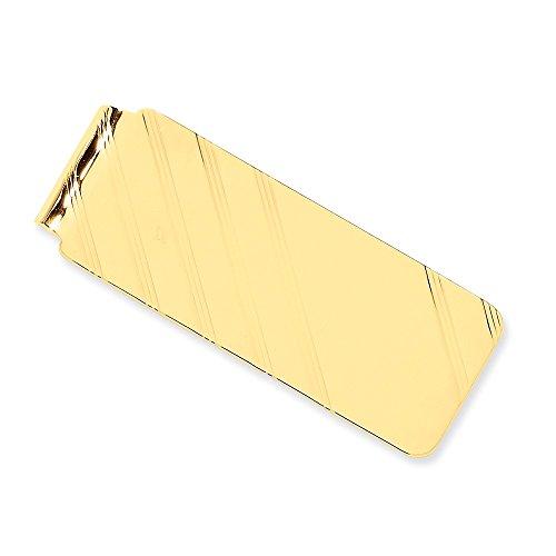 Gold Clip Money 14k Brilliant Bijou Bijou Yellow Genuine Brilliant Genuine Yellow 14k 1zCqwnP