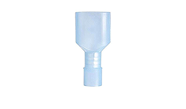 Inch 5 Piece Gardner Bender 15-153M Fully Insulated Disconnect Male /¼ Tab 15 Pk 16-14 AWG Blue