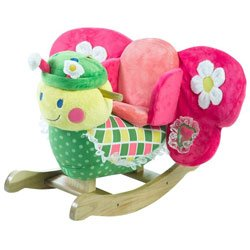 Rocking Butterfly Horse (Ababy Personalized Bonita Butterfly Rocker)