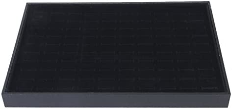 [해외]Almencla 링 홀더 피어스 홀더 쥬얼리 수납 디스플레이 박스 케이스 대략 100 슬롯 / Almencla Ring Holder Earring Holder Jewelry Storage Display Box Case Approx. 100 Slots