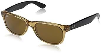 Ray-Ban New Wayfarer RB2132-0 Honey/B15 XLT Sunglasses