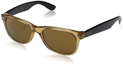 5a60d615aa7a Ray-Ban New Wayfarer RB2132-0 Honey B15 XLT Sunglasses (B000GLJE7I ...
