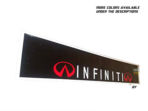 GY Vinyl Arts,Infiniti,Windshield,Sun Visor,Decal,Sun Shade,Compatible,Infiniti,g35,g37