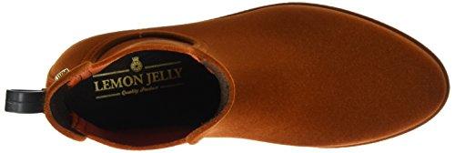 Lemon Brown Chelsea Women's Jelly Brick Boots Velvety 10 CrCBxO