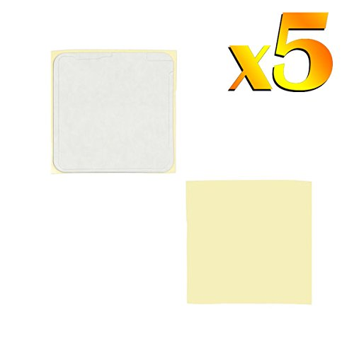 BisLinks 5 x For Apple iPod Nano 6th 6 Generation Digitizer Glass Touch Screen Adhesive Fix Part