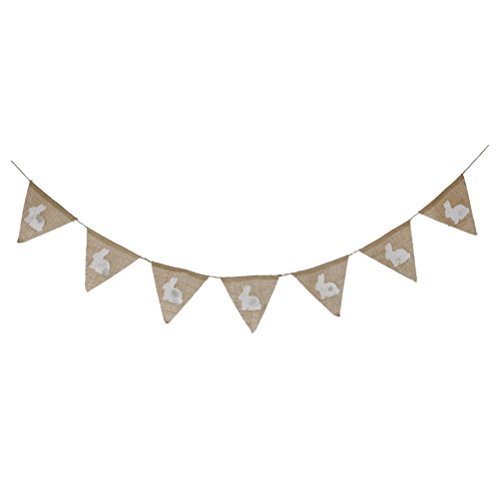 Tinksky Easter Festival Hessian Bunting