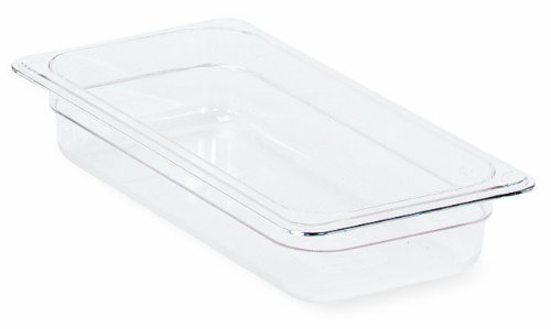 Crestware Polycarbonte Food Pan Full Size x 2-1/2-Inch by Crestware