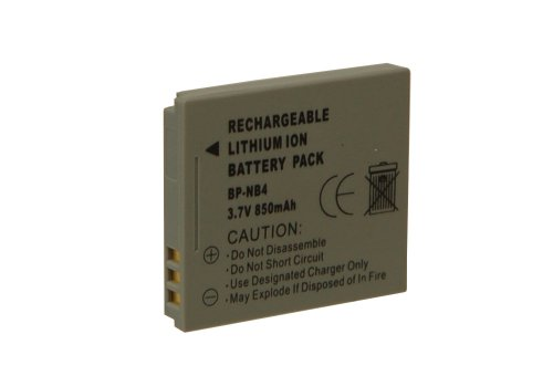 Digital Concepts BP-NB4-C Lithium Ion Replacement for Canon NB-4L Digital Camera Battery