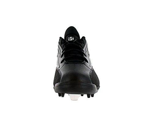 5d39ee794 Reebok Nfl Thorpe Mid Mr7 Fb Turf Mens Football Shoes Black silver ...