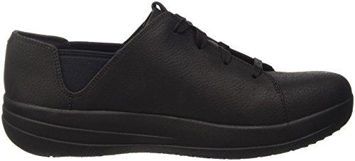 Fitflop F-Sporty Tm Laceup Sneaker, Sandalias con Plataforma para Mujer, Various Nero (Black)