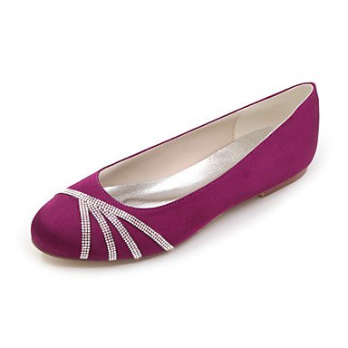Silver Winter White Party Summer Fall Pink Spring 10 8 Satin Red Ivory Heel Purple Women'S Black Wedding UK7 Blue Evening 5 US9 amp;Amp; CN42 EU41 5 Flat qxwtUTEY