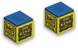 Tiza para taco de billar de fibra Tweteen triangle azul 2 pcs ...