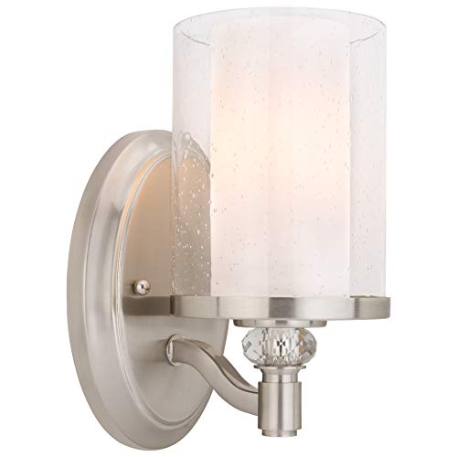Traditional Crystal Glass Sconce - Kira Home Victoria 10