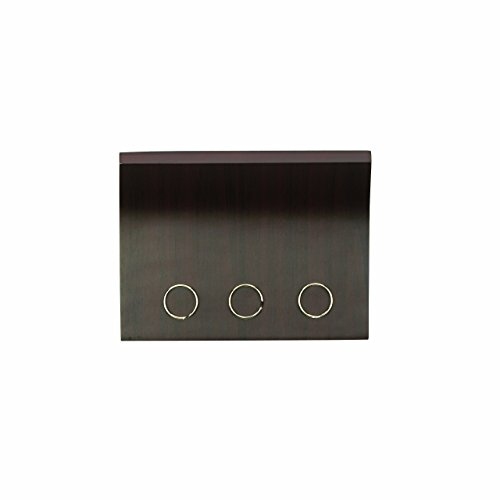 Umbra Magnetter - Magnetic Wall Mounted Key/Mail Entryway Organizer/Hanger, Espresso, STORAGE,