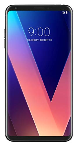 LG V30+ (Plus) 128GB No-Contract Smartphone, Black (Verizon Wireless CDMA, No Contract)