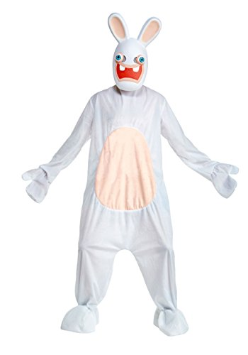 Deluxe Rabbids Adult Costume (Raving Rabbids Costume)