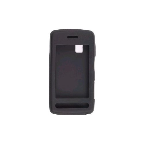 Wireless Solutions 5 Pack Silicon Gel Case for LG Vu CU915, CU920 (Black)