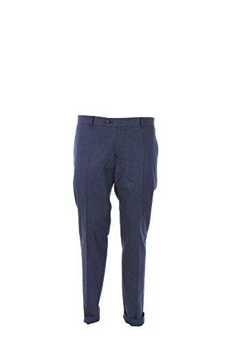 Pantalone Uomo Daniele Alessandrini 50 Blu P3394r11793701 1/7 Primavera Estate 2017