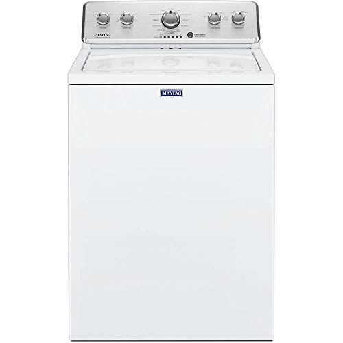 Maytag 3.8 cu. ft. High-Efficiency White Top Load Washing Machine with Deep Fill Option