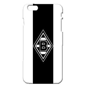 VfL Borussia Monchengladbach FC Mobile Phone Case for iPhone 6 Plus/6s Plus 5.5 Inch,Creative Classical Borussia Monchengladbach Football Club 3D Customised Snap-on iPhone 6 Plus/6s Plus 5.5 Inch Case Cover
