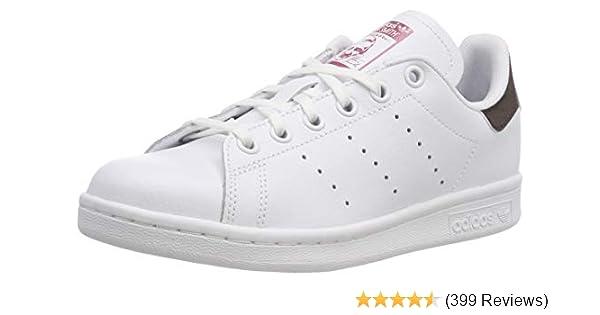 Amazoncom Adidas Performance Stan Smith J Tennis Shoe Big Kid